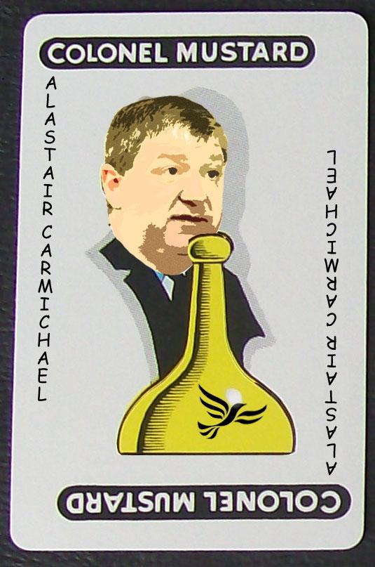 Alastair Carmichael Cluedo Piece