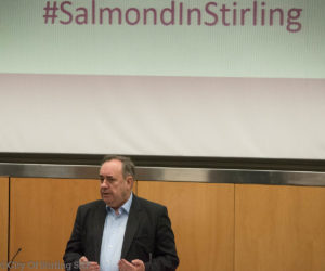 Alex Salmond at Stirling