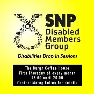 Disabled Members Drop In sessions @ The Burgh Coffee House