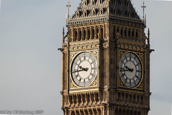 Clock of Palace of Westminster