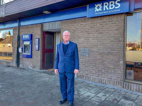 Bruce Crawford MSP at Bannockburn RBS