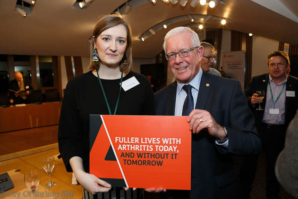 Bruce Crawford MSP meets with Arthritis UK in Parliament