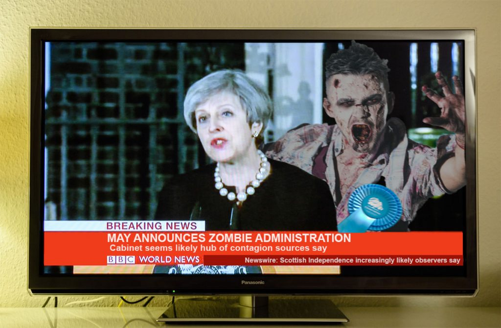 Theresa May, Sombie administration