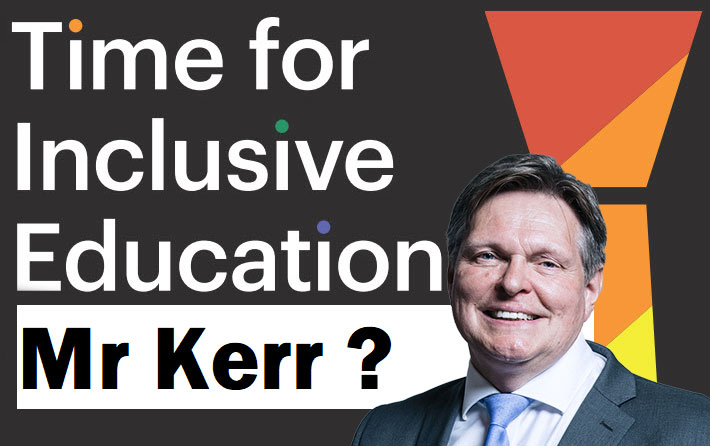 Stephen Kerr fails to sign support to LGBTI rights